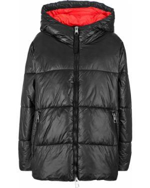 Куртка с капюшоном черная свободная Replay