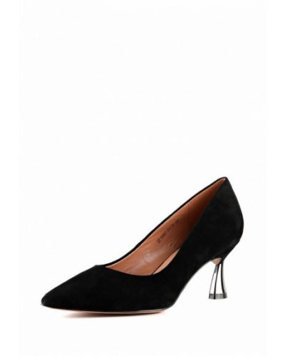 Туфли-лодочки на каблуке замшевые Sasha Fabiani