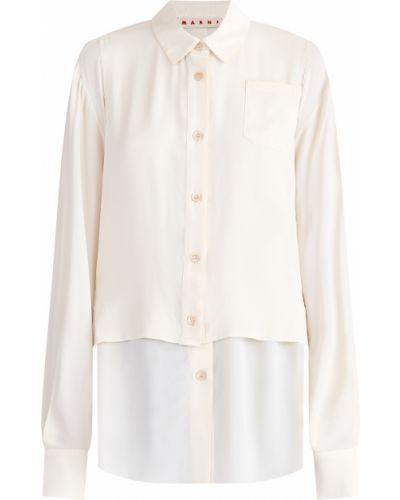 Блузка с запахом классическая Marni