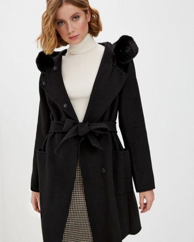 Черное пальто Lauren Ralph Lauren