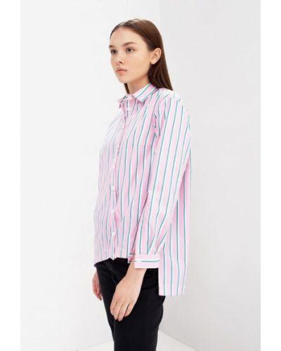 Блузка с длинным рукавом розовая весенний Evercode