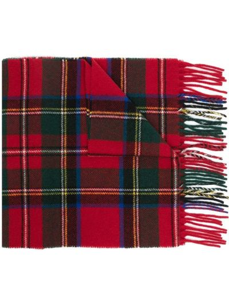 Красное тонкое поло с вышивкой Polo Ralph Lauren