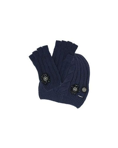 Синяя шапка Liu Jo