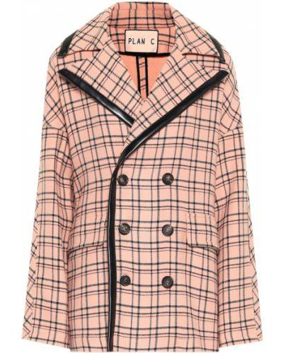 Костюмный розовый пиджак Plan C