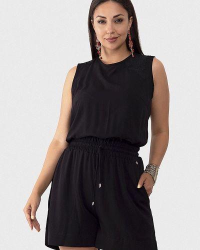 Комбинезон с шортами - черный O&j