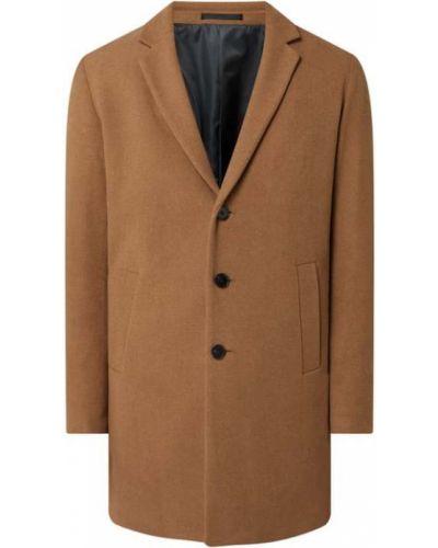Zielony płaszcz wełniany Jack & Jones