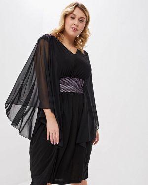 Вечернее платье черное Артесса