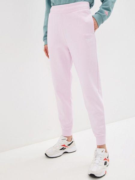 Классические розовые спортивные брюки с карманами Reebok Classics