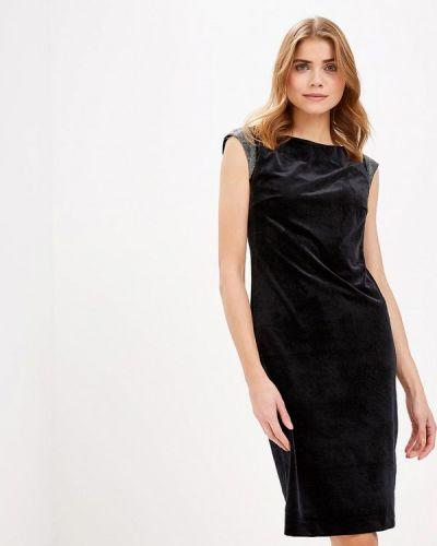 Вечернее платье осеннее черное Profito Avantage