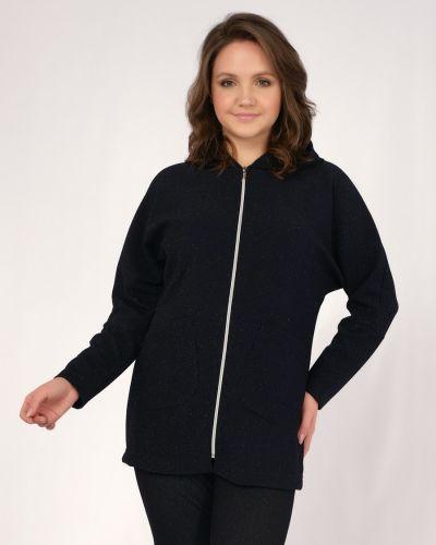 Повседневный прямой пиджак с накладными карманами одевайте