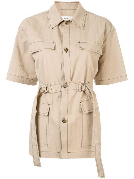 Рубашка с коротким рукавом - коричневая G.v.g.v.