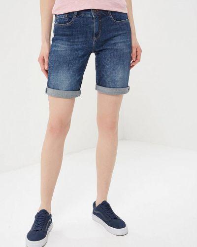 Синие джинсовые шорты H.i.s