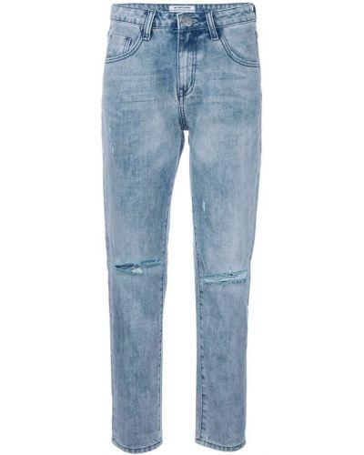 Прямые джинсы рваные One Teaspoon