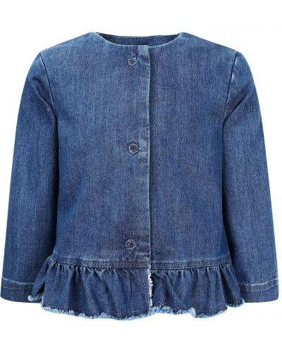 Хлопковая синяя куртка Il Gufo