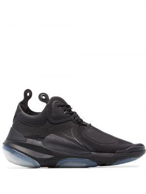 Czarne sneakersy sznurowane koronkowe Nike