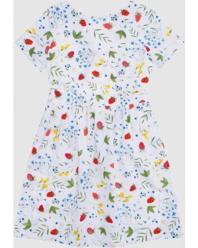 Белое платье миди Alexander Terekhov