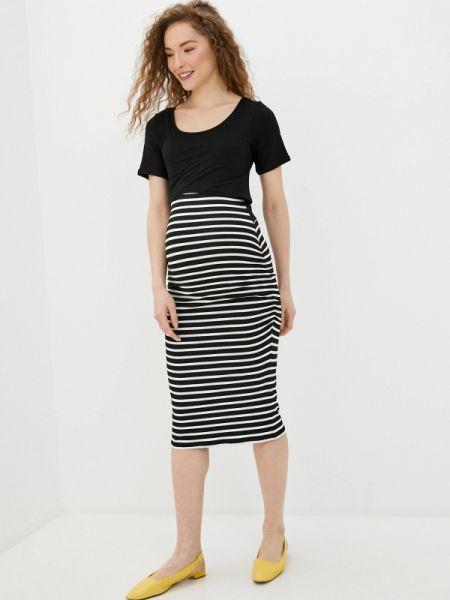 Платье футболка черное Envie De Fraise