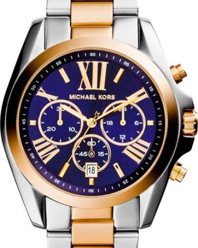Кварцевые часы серые серебряный Michael Kors