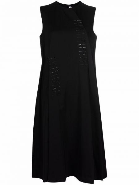 Платье трапеция - черное Comme Des Garçons Noir Kei Ninomiya