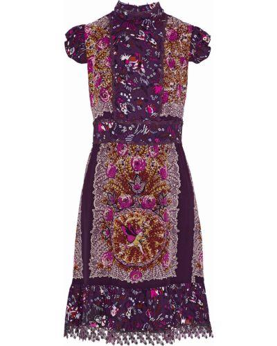 Шелковое платье Anna Sui