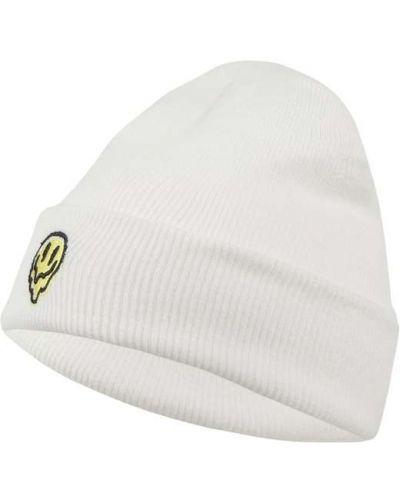 Biała czapka dzianinowa Brixton