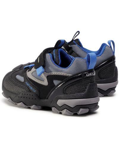 Czarny sandały Geox