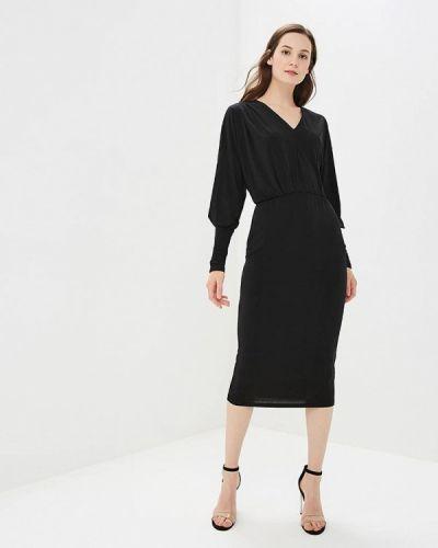 Черное платье с длинными рукавами Y.a.s