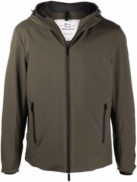 Куртка милитари - зеленая Woolrich