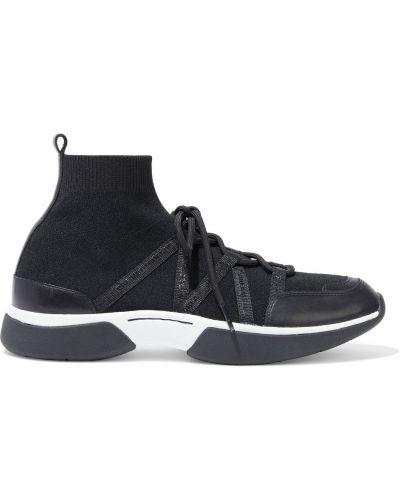 Buty sportowe skorzane - czarne Maje