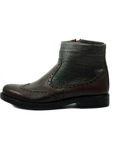 Ботинки - коричневые Sherlock Soon
