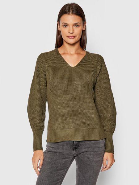 Sweter - zielony Selected Femme