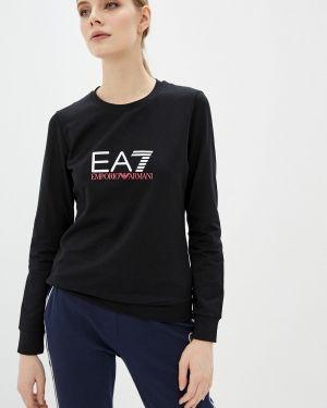 Толстовка черная Ea7