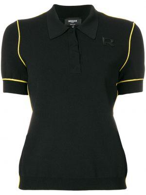 Czarna koszula z wiskozy Rochas