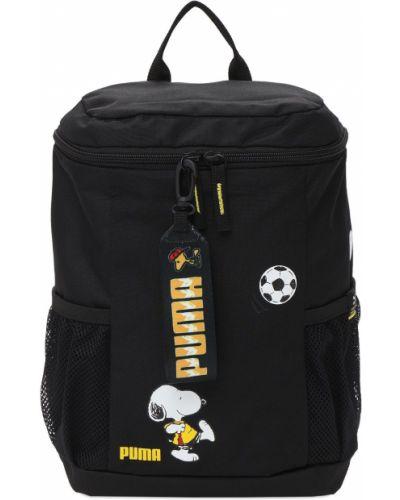 Czarny plecak z nylonu Puma