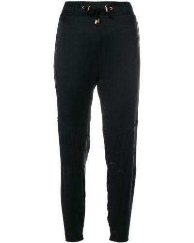 Спортивные брюки с карманами шелковые Balmain