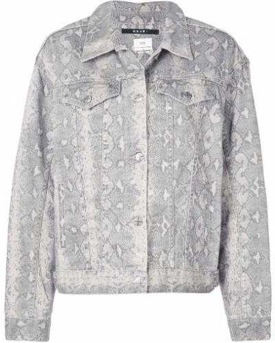 Прямая приталенная синяя джинсовая куртка Ksubi