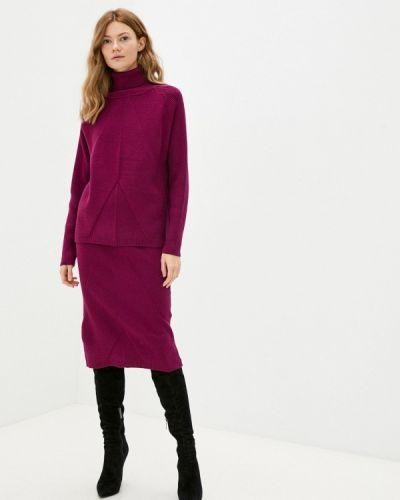Вязаный костюм - фиолетовый Miss Gabby