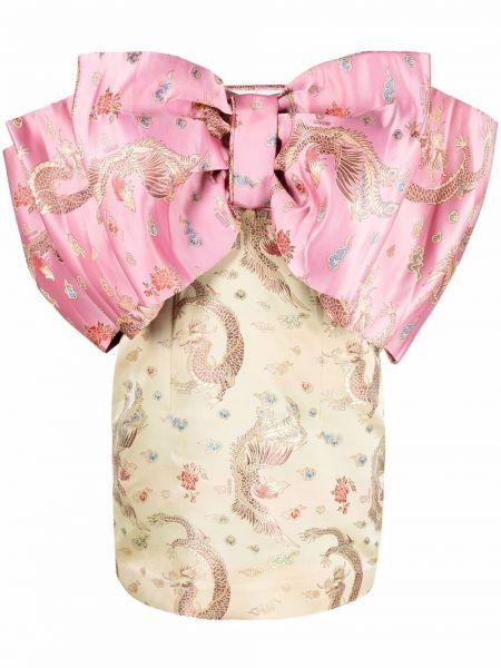 Różowa sukienka bez rękawów Rotate