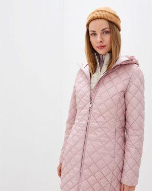 Утепленная куртка осенняя розовая Luhta