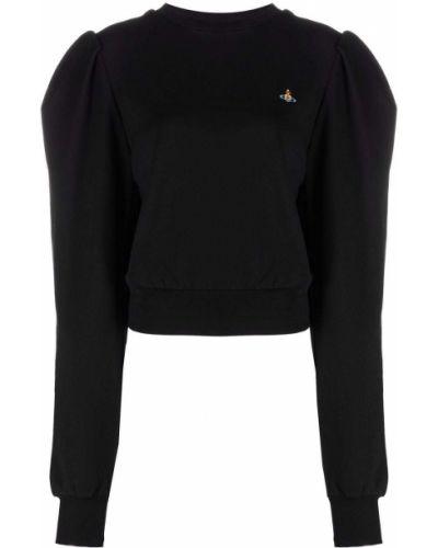 Черная хлопковая кофта Vivienne Westwood