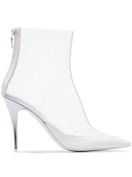 Wysoki buty na obcasie z ostrym nosem Stella Mccartney
