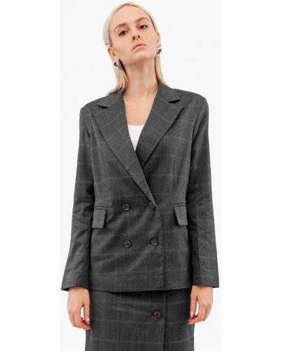 Пиджак - серый Dorogobogato