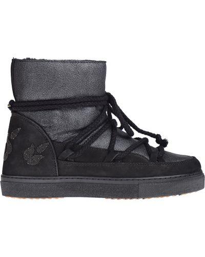 Ботинки на платформе кожаные осенние Inuikii