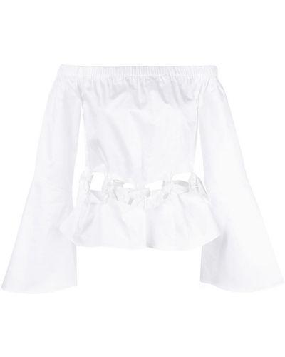 Длинная рубашка - белая Zac Zac Posen