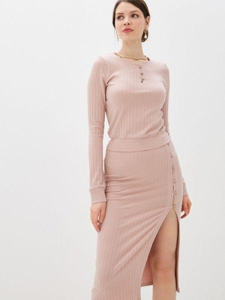 Юбочный костюм розовый Trendyangel