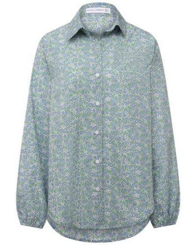 Хлопковая рубашка - голубая Faithfull The Brand