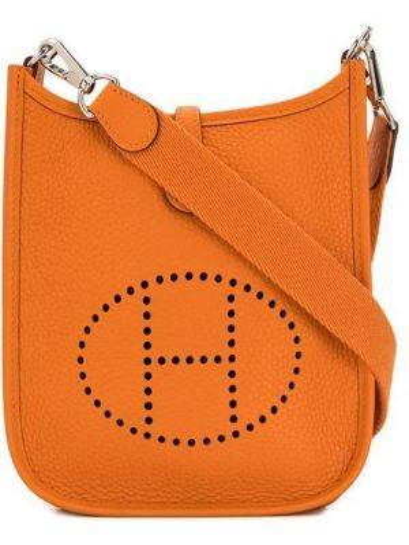 Сумка через плечо на плечо с логотипом Hermès