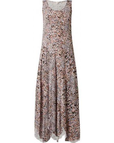Sukienka rozkloszowana - różowa Cream