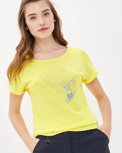 Желтая футболка Icepeak