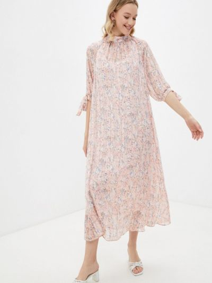 Платье-комбинация - розовое Forus